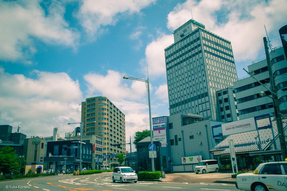 金沢駅から近江町市場へ歩く