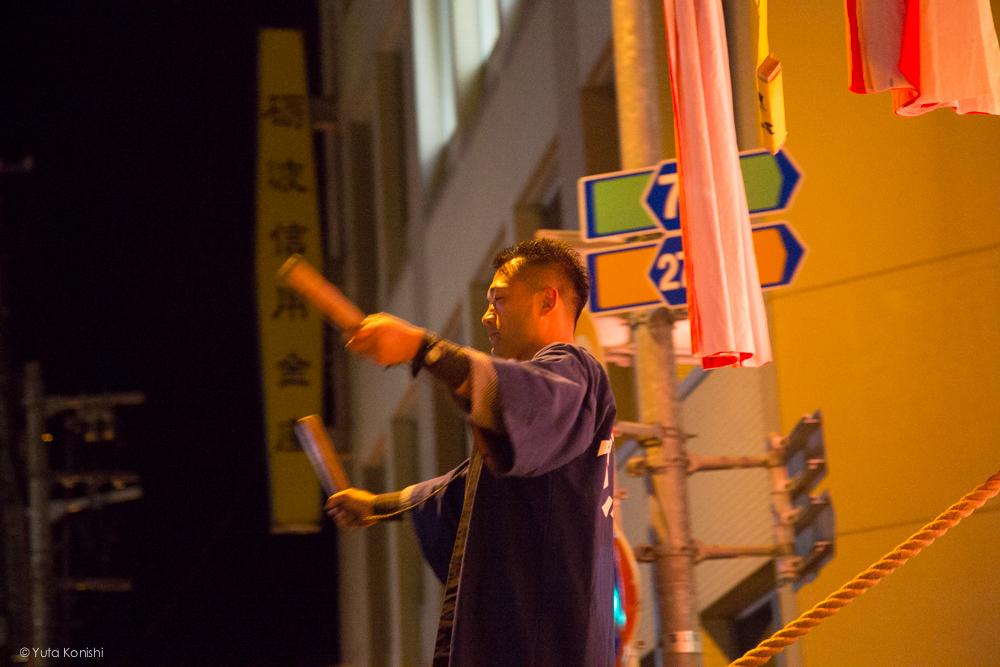 行灯の上より - 富山県南砺 福野の夜鷹祭り(2013年5月2日)