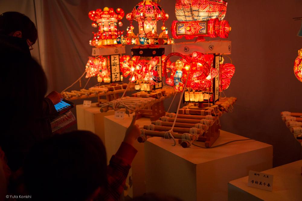行灯模型 - 富山県南砺 福野の夜鷹祭り(2013年5月2日)