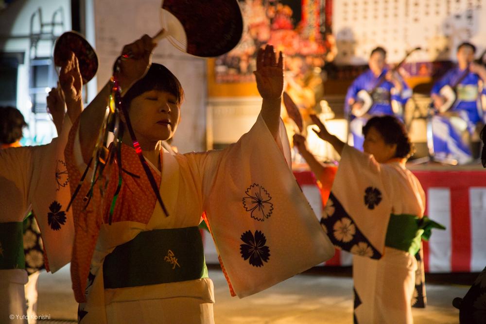 夜鷹音頭 - 富山県南砺 福野の夜鷹祭り(2013年5月2日)