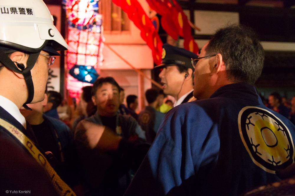 祭りの前 - 富山県南砺 福野の夜鷹祭り(2013年5月2日)