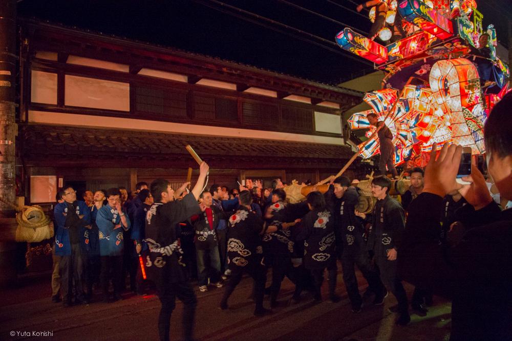祭りの始まり - 富山県南砺 福野の夜鷹祭り(2013年5月2日)