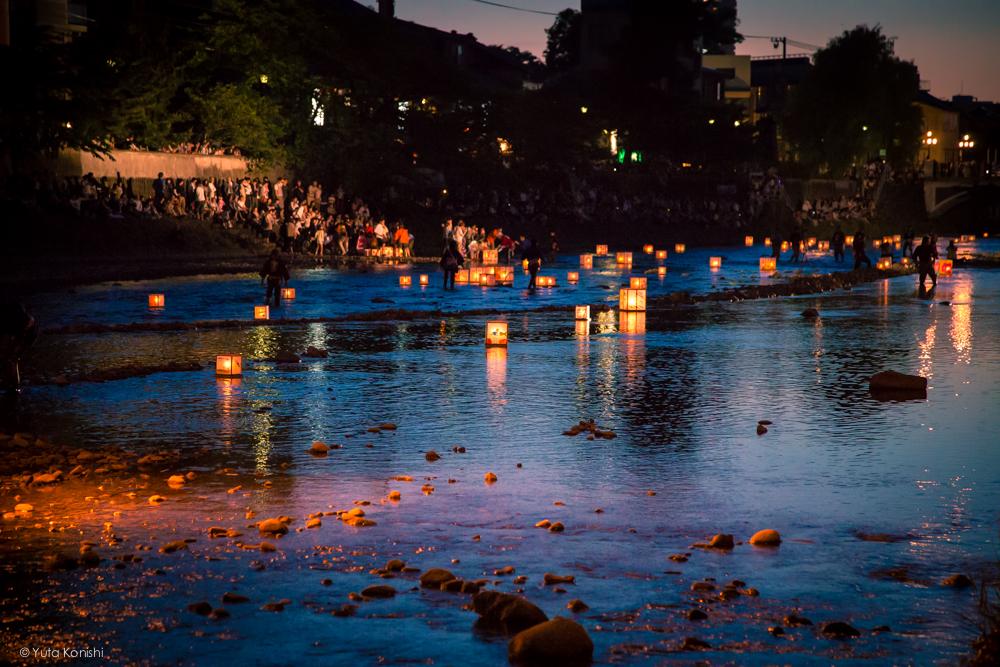 石川県 金沢市灯篭流し 百万石行列前夜祭(2013年6月)