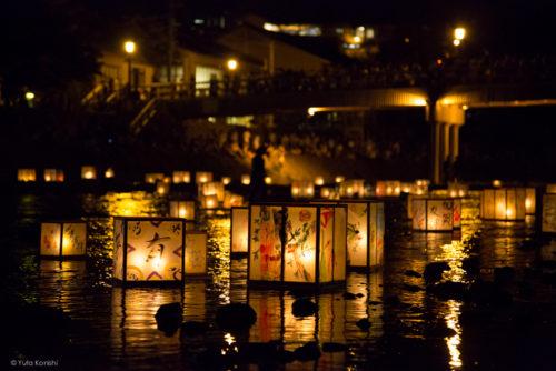金沢市で最も美しい夜祭り「金沢友禅とうろう流し」6月に金沢へ来るならこのイベント (2013年6月)
