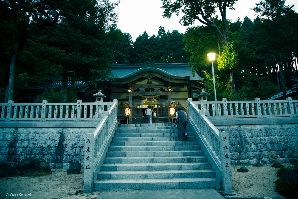 伊夜比咩神社 - 石川県能登島向田(こうだ)の火祭
