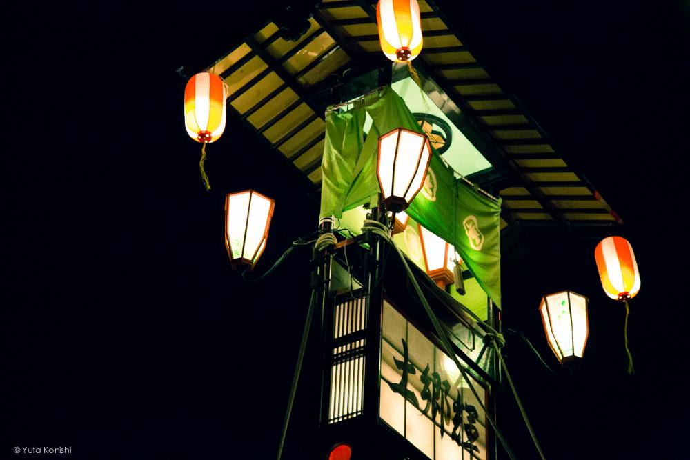 のとのキリコ1 - 石川県能登島向田(こうだ)の火祭