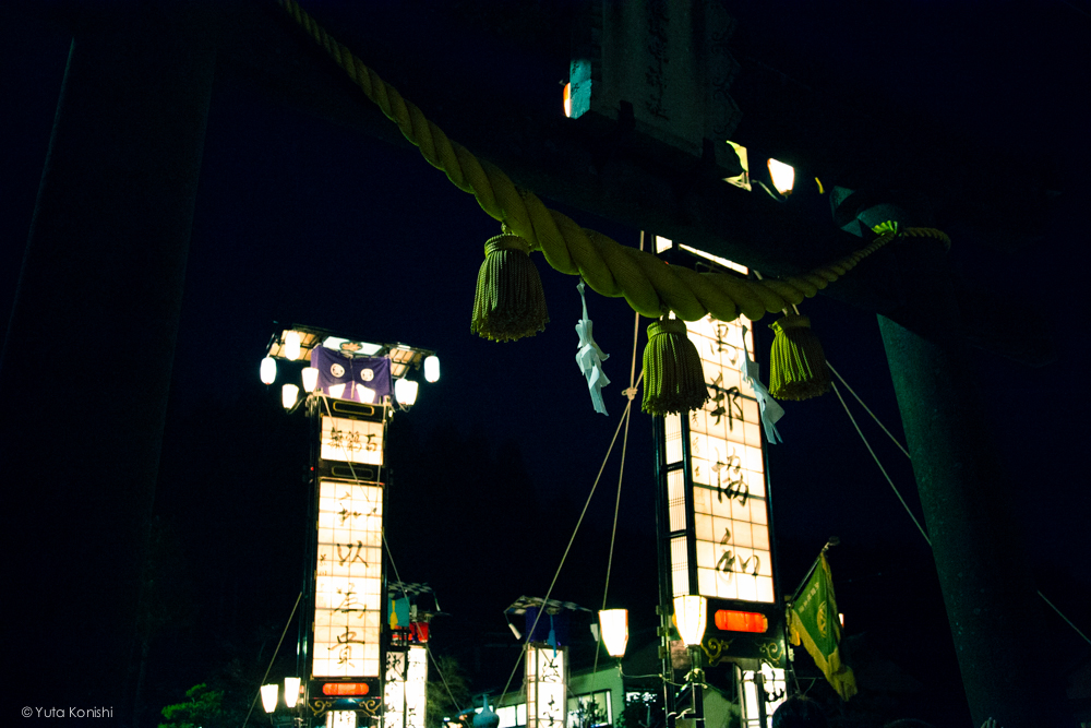 のとのキリコ3 - 石川県能登島向田(こうだ)の火祭