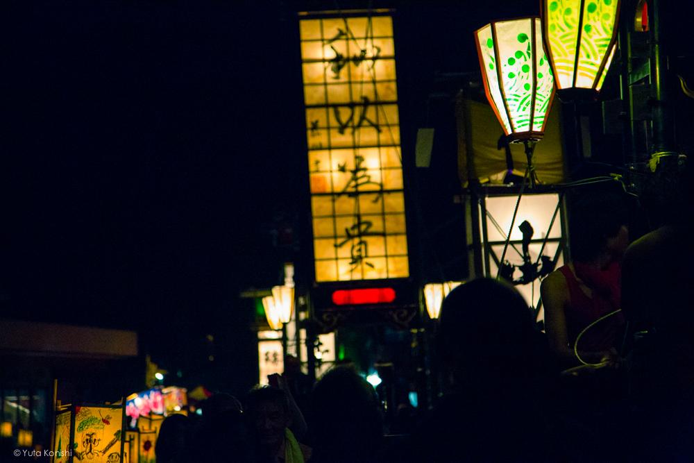石川県能登島向田(こうだ)の火祭