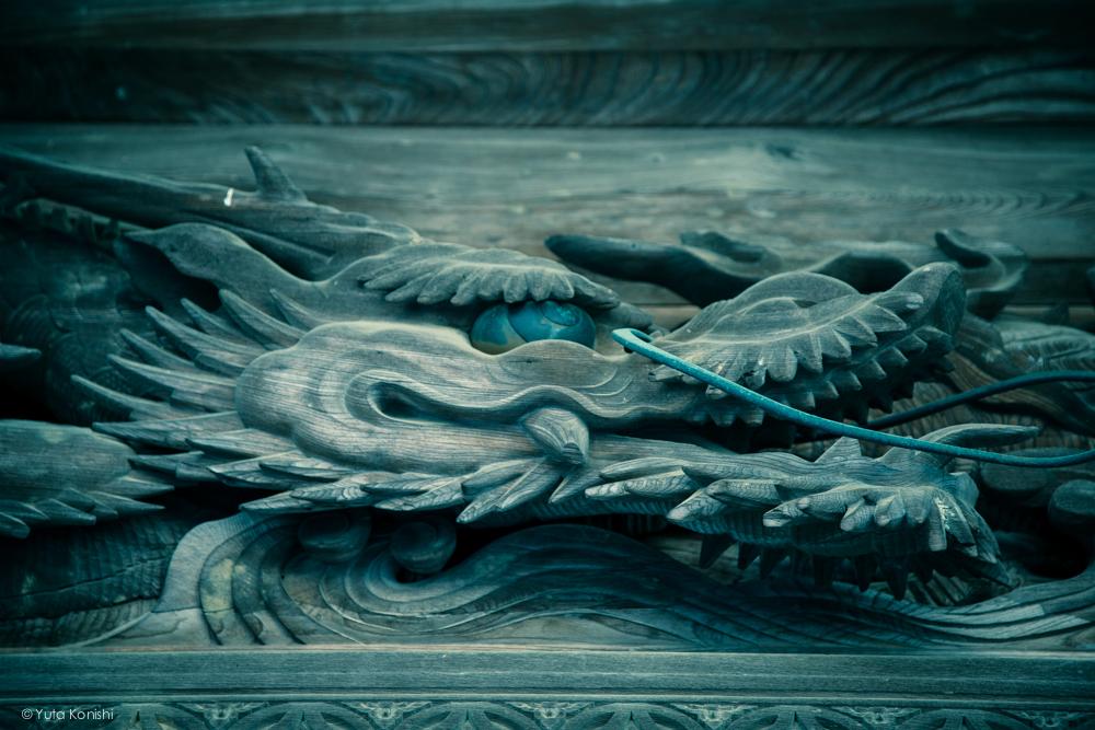 富山県南砺市井波 井波別院 瑞泉寺の彫刻