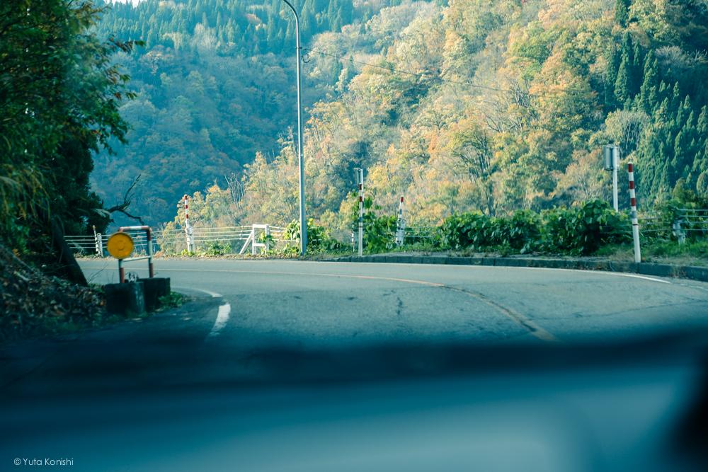 世界遺産 富山の五箇山への道のり
