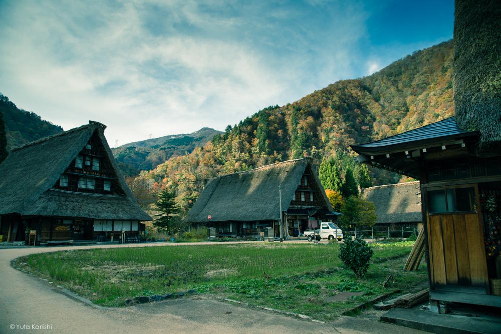 世界遺産五箇山 日本昔ばなしの世界観そのもの