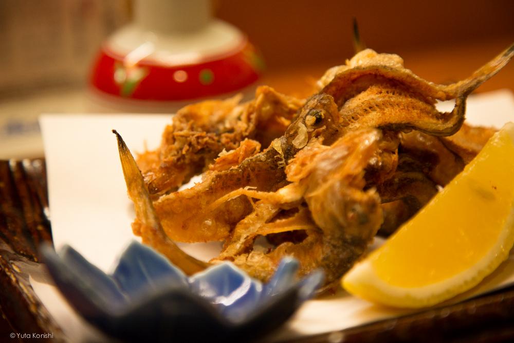 輪島の寿司屋 「伸福」揚げ物