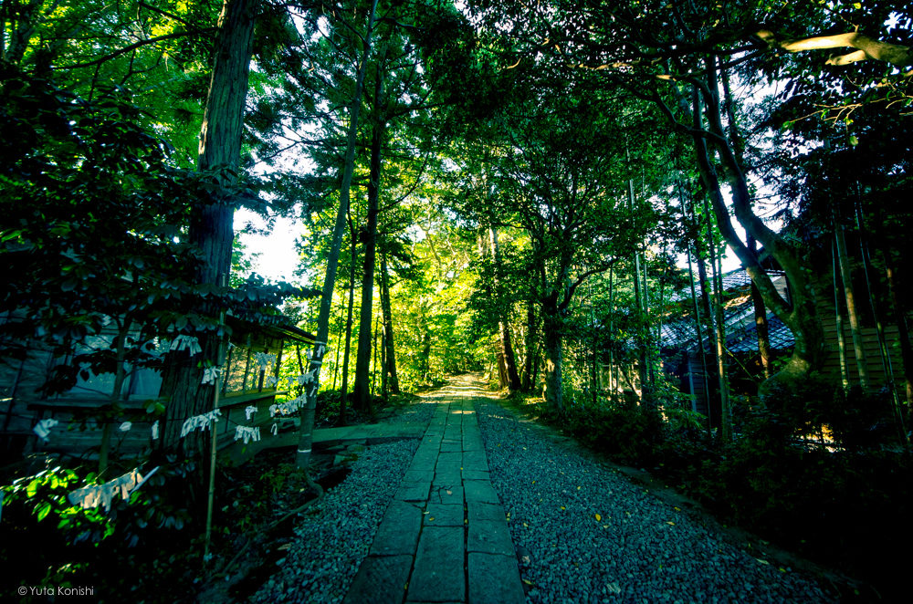 石川県 能登の須須神社(すす) 東北鬼門日本海の守護神 (2012年9月)