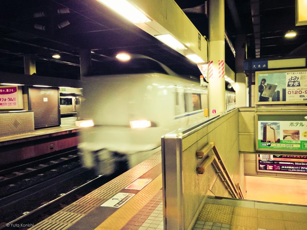 特急はくたか 金沢駅