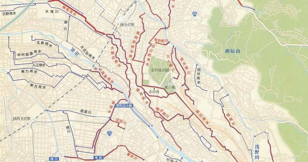 金沢用水路