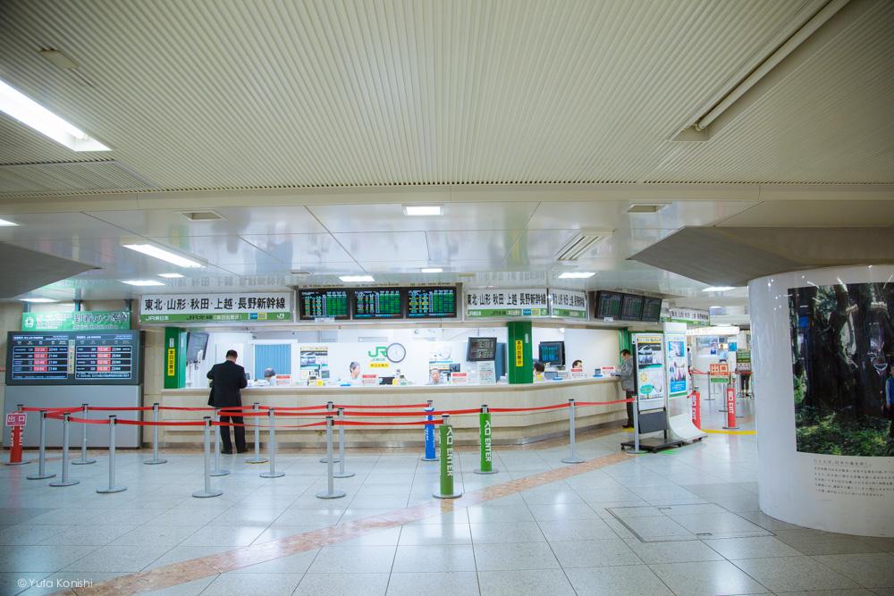 北陸新幹線 東京駅