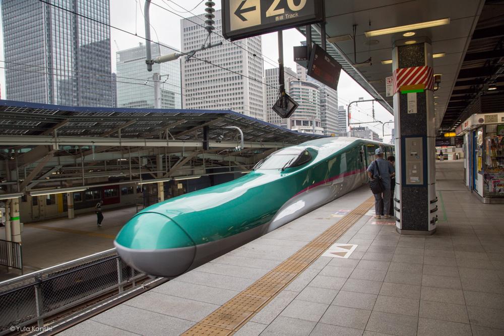 北陸新幹線 東京駅 E5