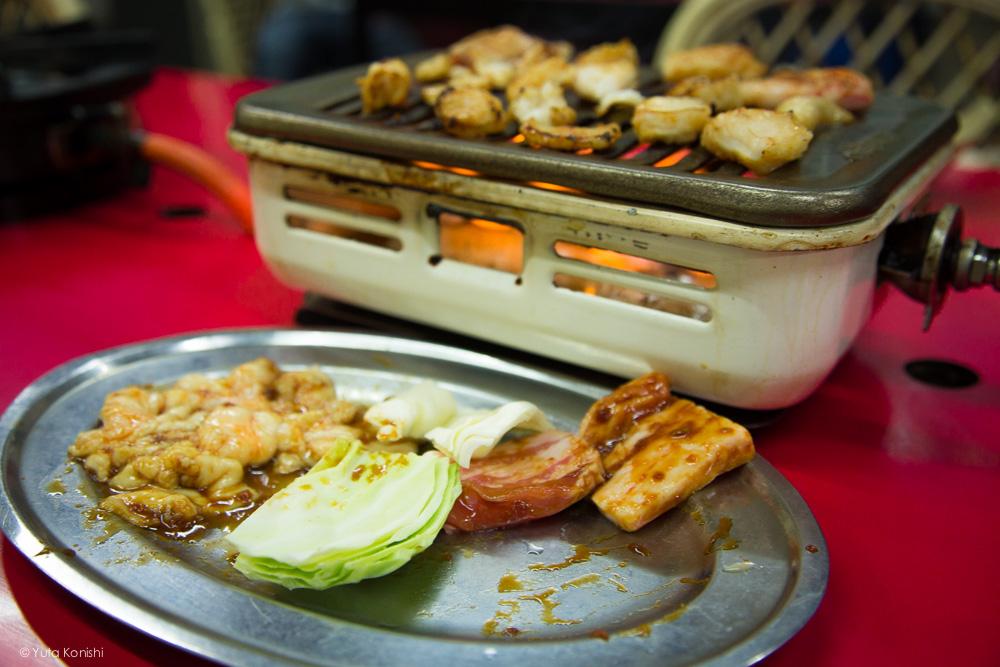 加賀市ドラ富士の焼き肉
