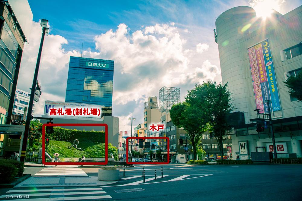 香林坊橋 金沢町絵図