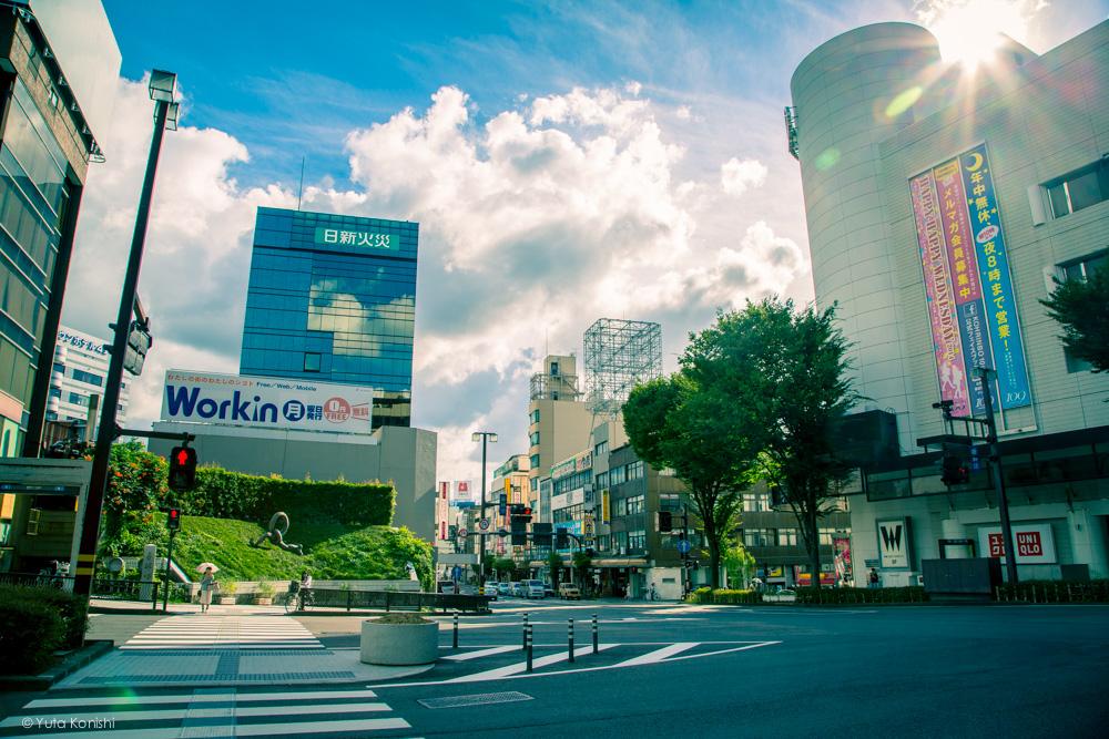 「香林坊?」変わった名前の町だな。金沢市香林坊の由来とそこに架かっていた「香林坊橋」の風景を訪れる