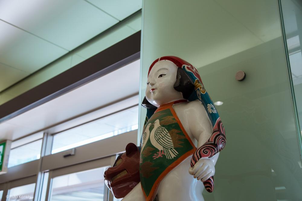 Ingressでする新しい「金沢観光」人形のポストのアップ