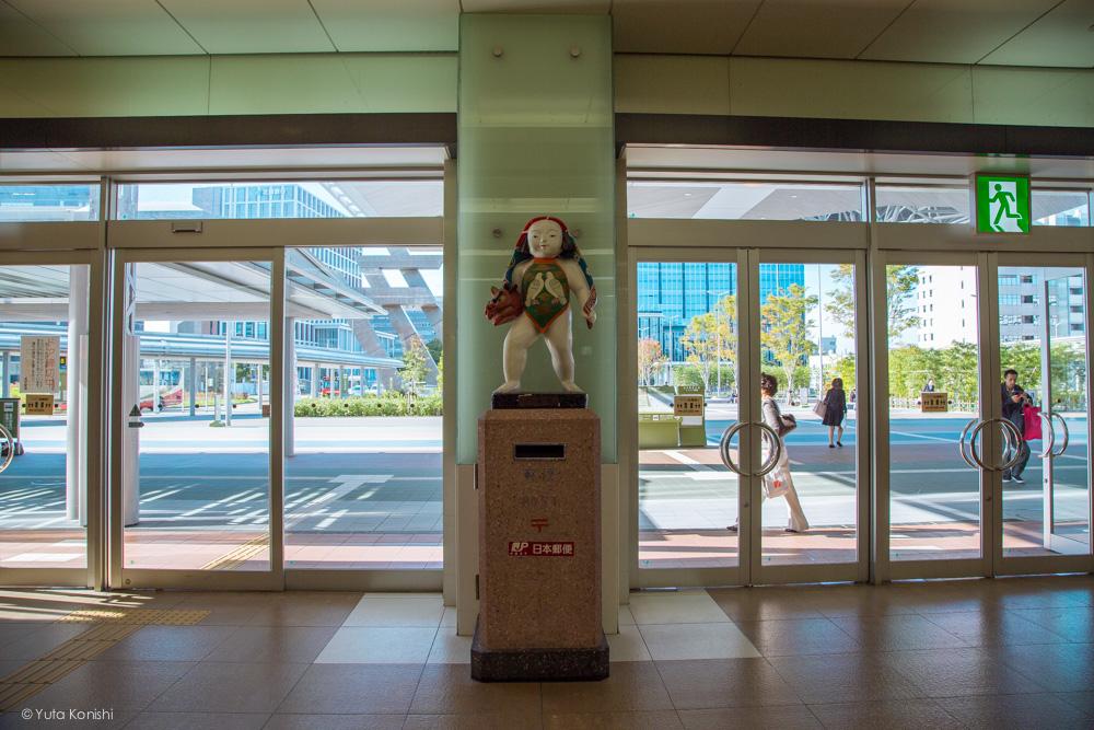 Ingressでする新しい「金沢観光」人形のポスト