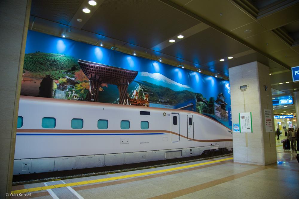 Ingressでする新しい「金沢観光」北陸新幹線準備ボード