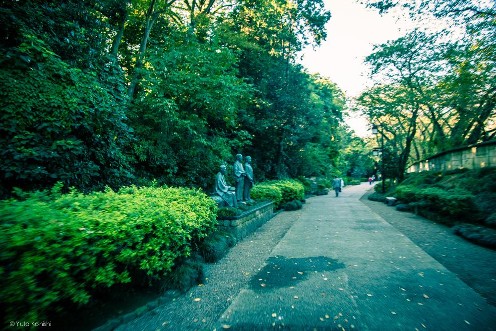 Ingressでする新しい「金沢観光」白鳥路