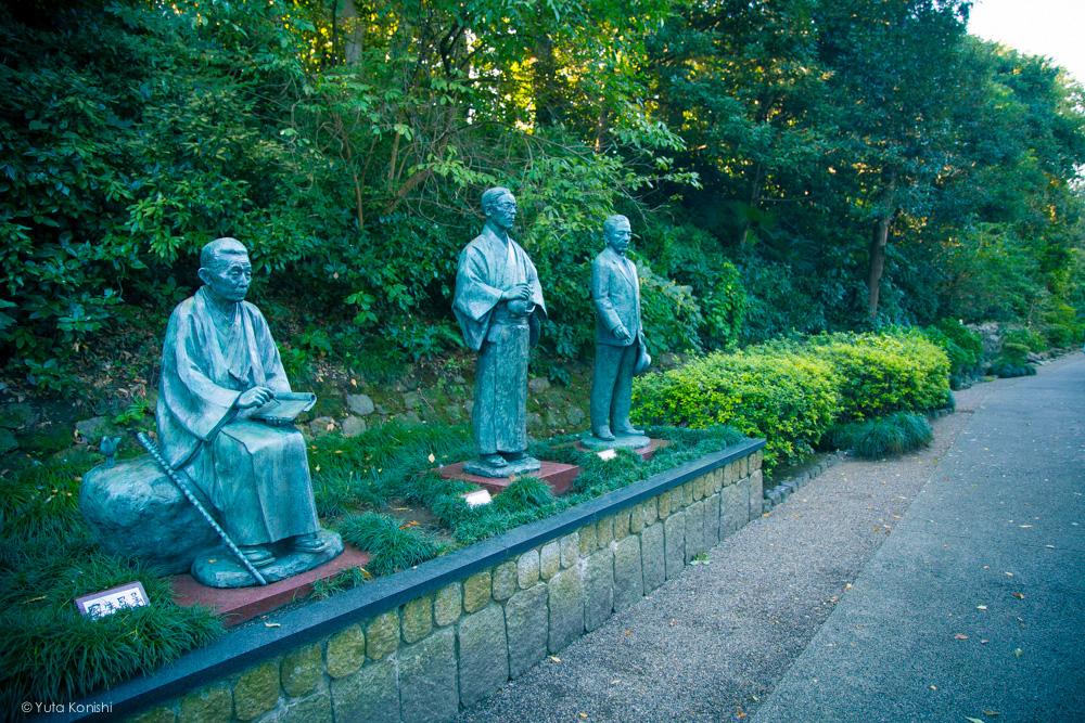 Ingressでする新しい「金沢観光」白鳥路の文豪