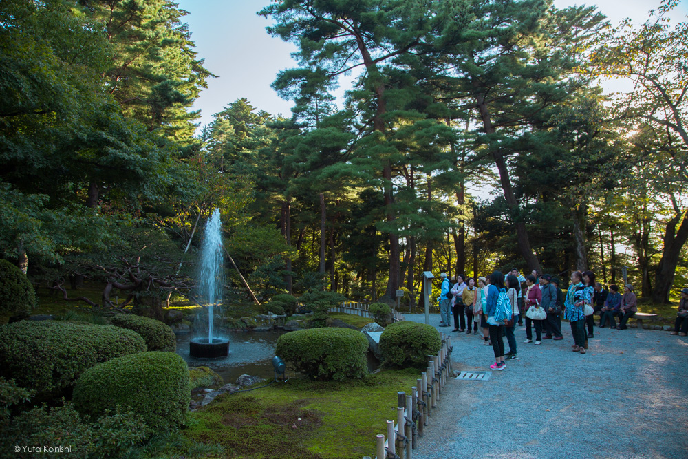 Ingressでする新しい「金沢観光」噴水