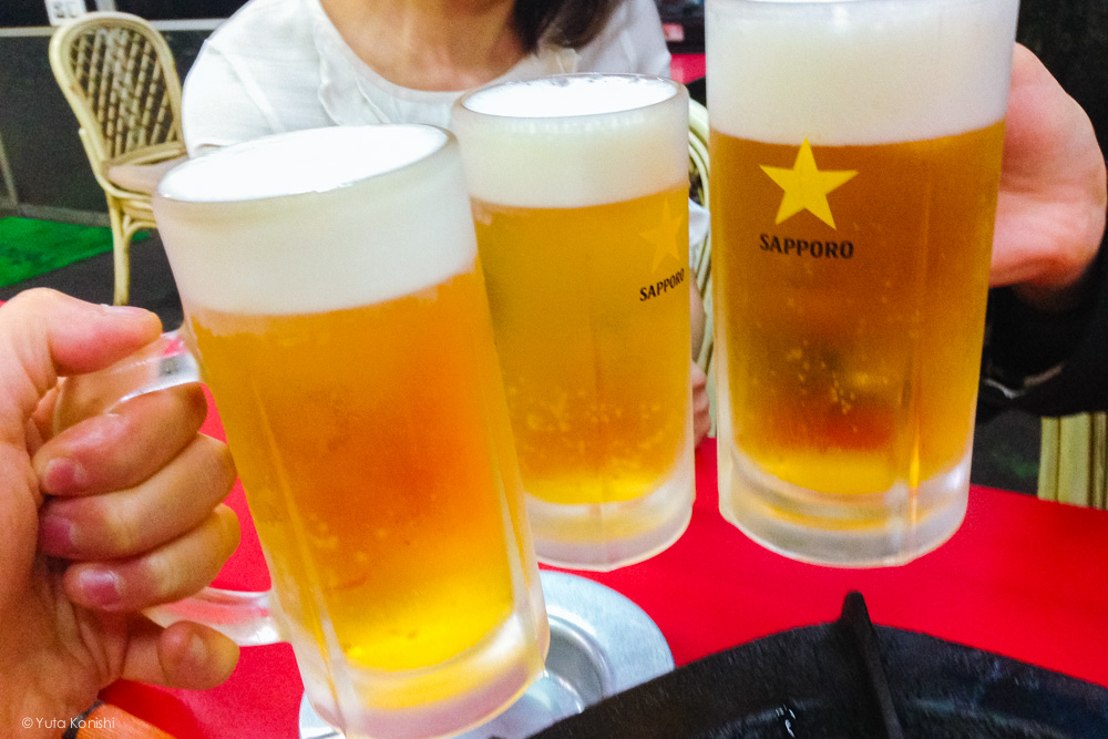 加賀市ドラ富士のビール