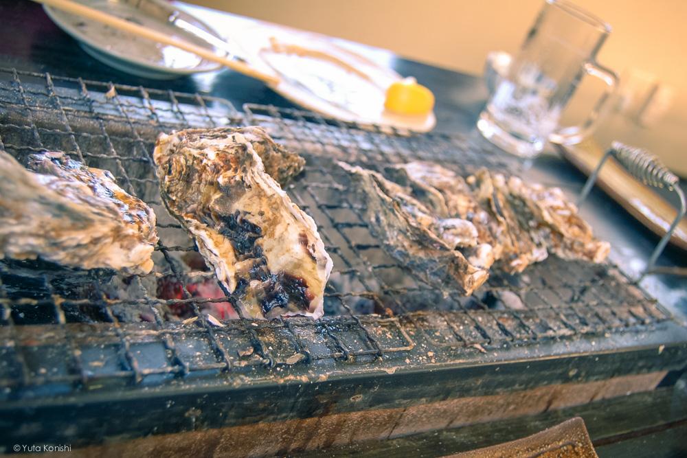 七尾中島の牡蠣