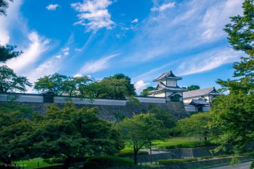 兼六園と金沢城公園をつなぐ「百間堀・石川橋」の風景を追う地味な歴史探訪!しかし!知ってて損はない!観光がちょっと楽しくなるだろ!