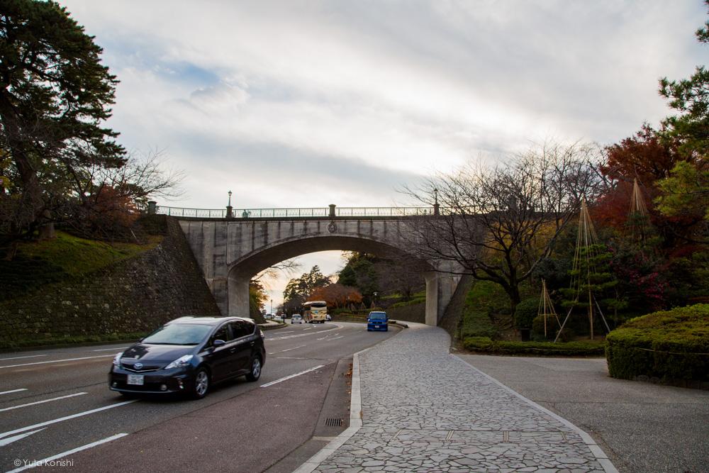 兼六園と金沢城址公園をつなぐ「百間堀・石川橋」の風景を追う地味な歴史探訪!しかし!知ってて損はない!観光がちょっと楽しくなるだろ!