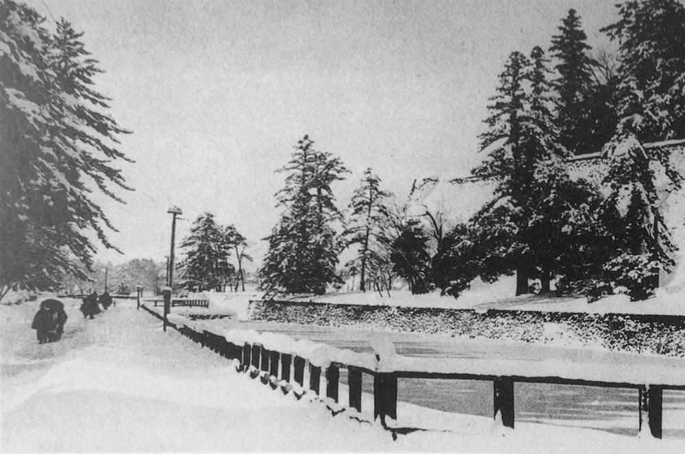 兼六園と金沢城址公園をつなぐ「百間堀・石川橋」の風景を追う地味な歴史探訪!しかし!知ってて損はない!観光がちょっと楽しくなるだろ! 明治25年