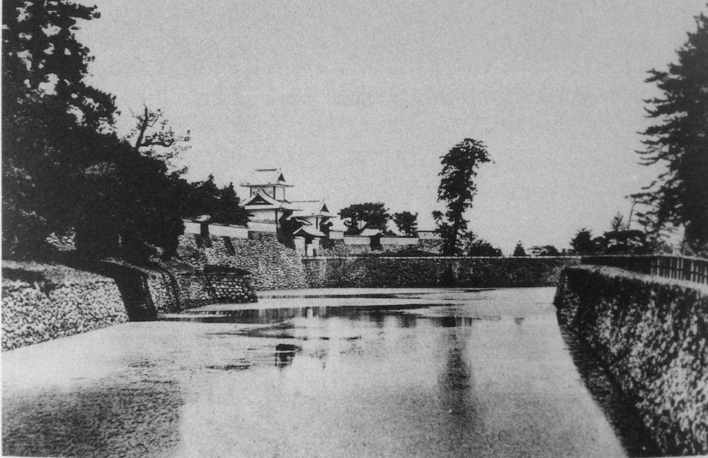 兼六園と金沢城址公園をつなぐ「百間堀・石川橋」の風景を追う地味な歴史探訪!しかし!知ってて損はない!観光がちょっと楽しくなるだろ! 明治20年頃