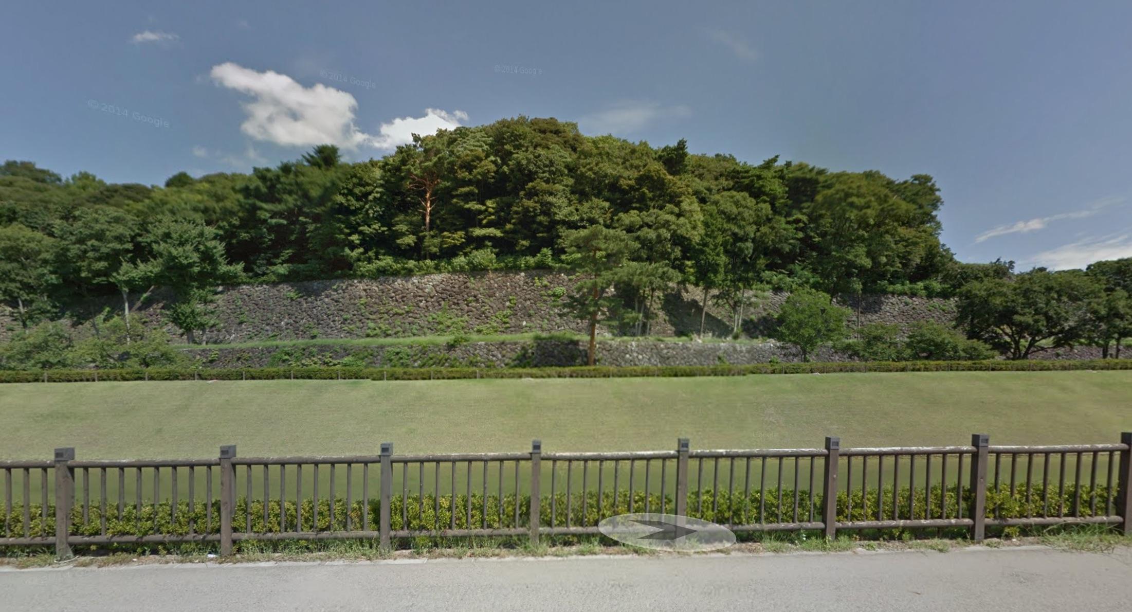 本丸南の石垣