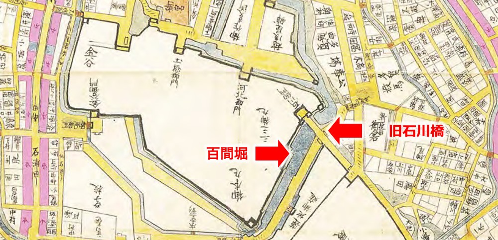 金府大絵図 寛政時代(1840年ごろ)
