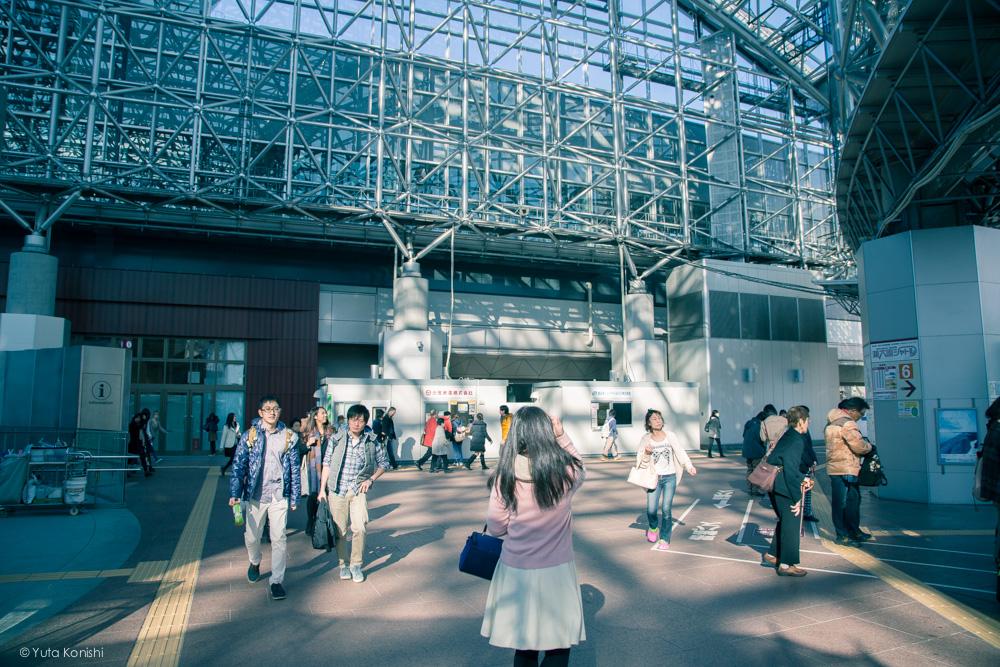 金沢駅 金沢周遊バスで周る金沢観光マニュアル!金沢の観光アイドル「ゆりりん」とバスで金沢を紹介します!