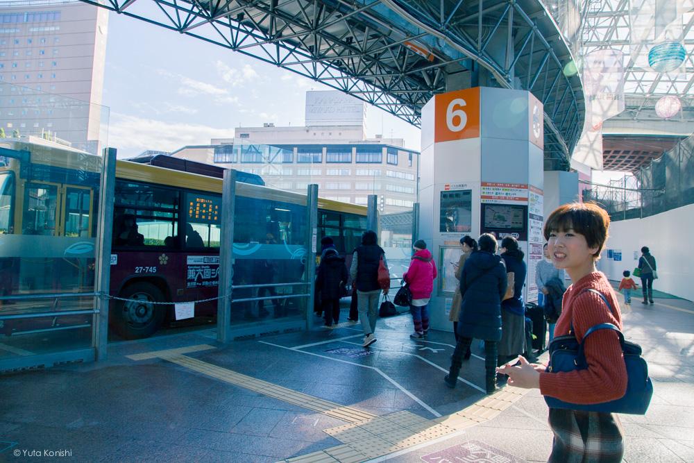 ゆりりん6番のりば 金沢周遊バスで周る金沢観光マニュアル!金沢観光アイドル「ゆりりん」とバスで金沢を紹介します!