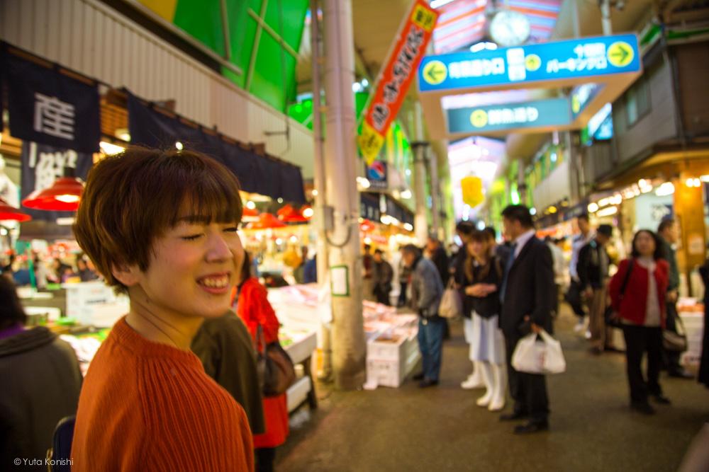 近江町市場ウインクゆりりん 金沢周遊バスで周る金沢観光マニュアル!金沢観光アイドル「ゆりりん」とバスで金沢を紹介します!