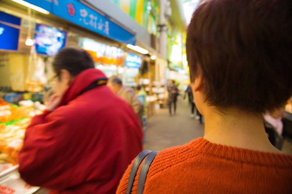 ゆりりん近江町市場 金沢周遊バスで周る金沢観光マニュアル!金沢観光アイドル「ゆりりん」とバスで金沢を紹介します!