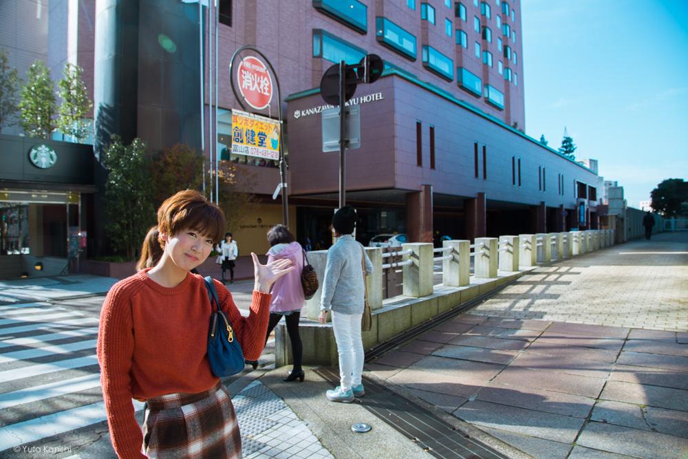 ここり右折ですゆりりん 金沢周遊バスで周る金沢観光マニュアル!金沢観光アイドル「ゆりりん」とバスで金沢を紹介します!