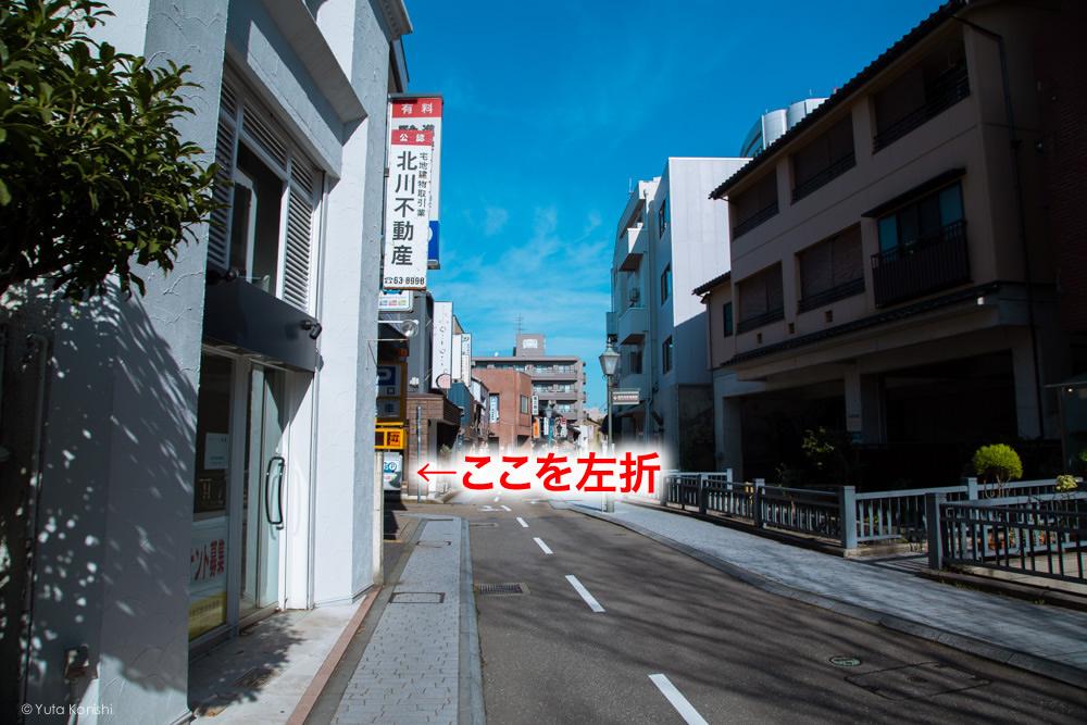 武家屋敷までの道のり説明 金沢周遊バスで周る金沢観光マニュアル!金沢観光アイドル「ゆりりん」とバスで金沢を紹介します!