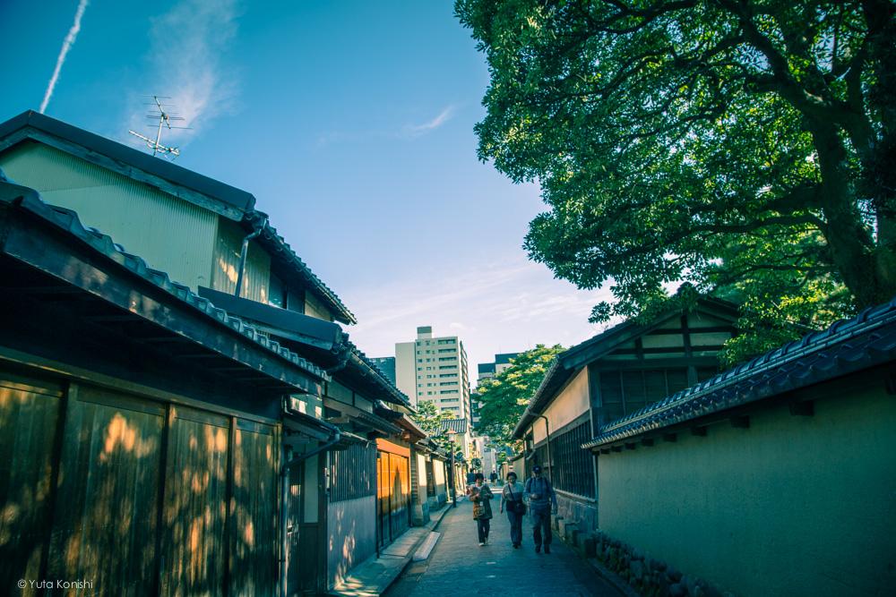 武家屋敷跡 金沢周遊バスで周る金沢観光マニュアル!金沢観光アイドル「ゆりりん」とバスで金沢を紹介します!