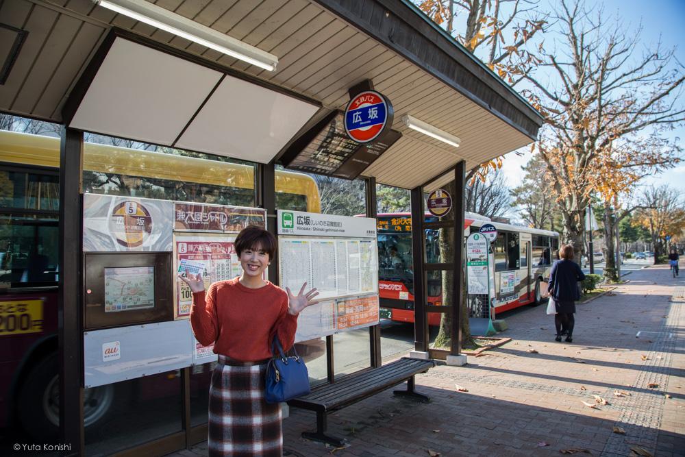 広坂バス停ゆりりん 金沢周遊バスで周る金沢観光マニュアル!金沢観光アイドル「ゆりりん」とバスで金沢を紹介します!