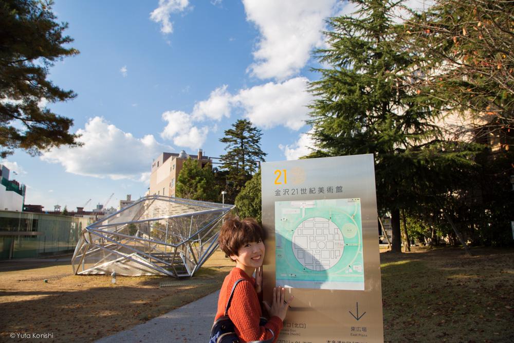 21世紀美術館ゆりりん 金沢周遊バスで周る金沢観光マニュアル!金沢観光アイドル「ゆりりん」とバスで金沢を紹介します!