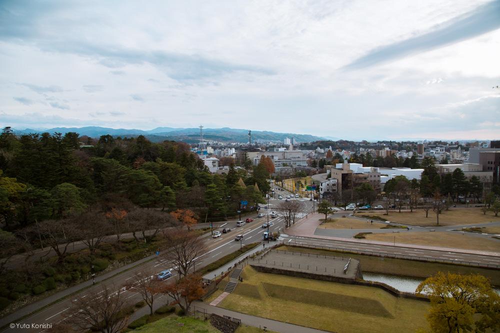 辰巳櫓より 金沢周遊バスで周る金沢観光マニュアル!金沢の観光アイドル「ゆりりん」とバスで金沢を紹介します!