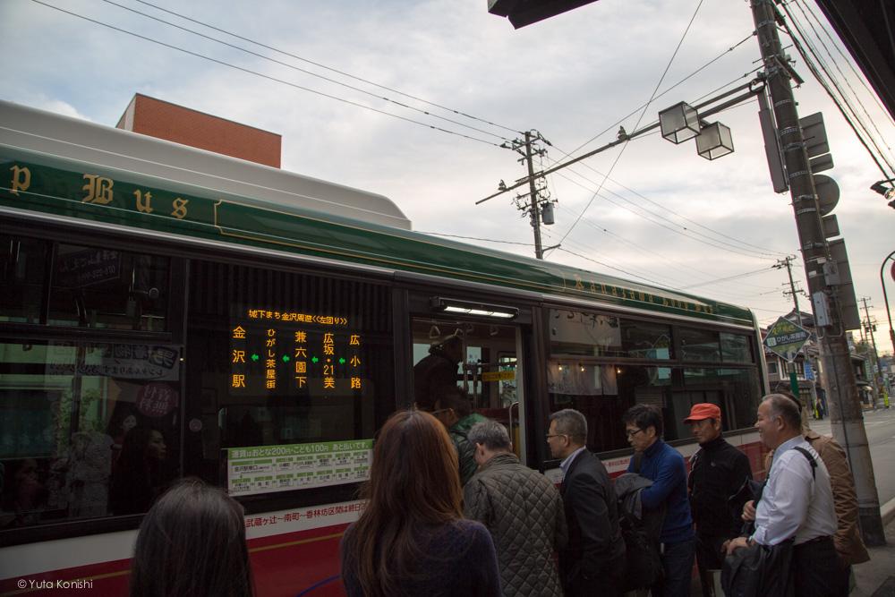 周遊バスひがし茶屋 金沢周遊バスで周る金沢観光マニュアル!金沢の観光アイドル「ゆりりん」とバスで金沢を紹介します!