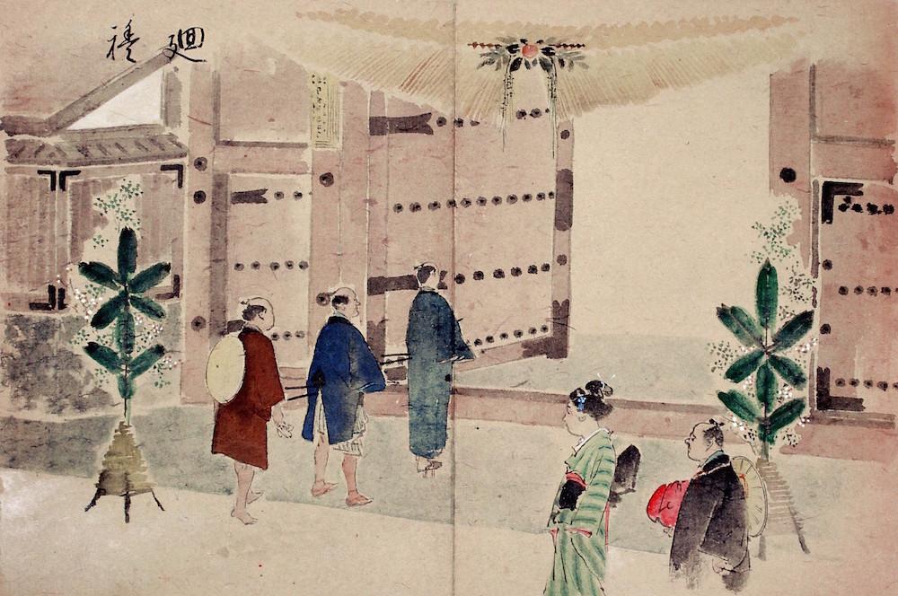 2015年1月15日まで金沢城公園の橋爪一の門で「しめ飾り」取り付け!こんな地味な記事はWebマガジン向けではないだろ!